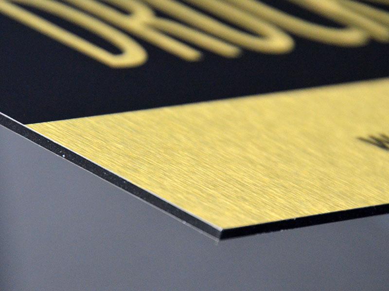 g nstig alu verbundplatte gold oder silber geb rstet drucken versandkostenfrei. Black Bedroom Furniture Sets. Home Design Ideas