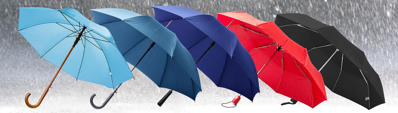 Regenschirm mit Logo-Druck