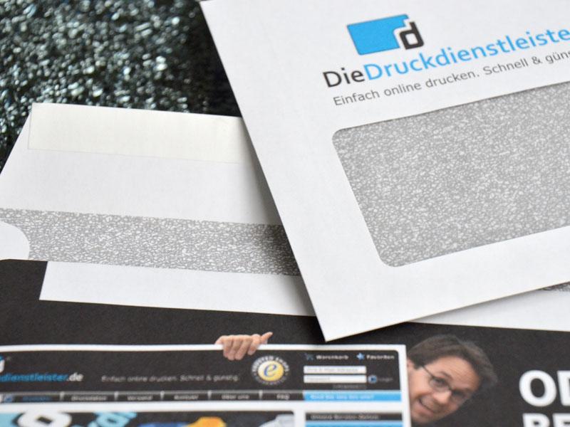 Briefumschlag Recyclingpapier haftklebend