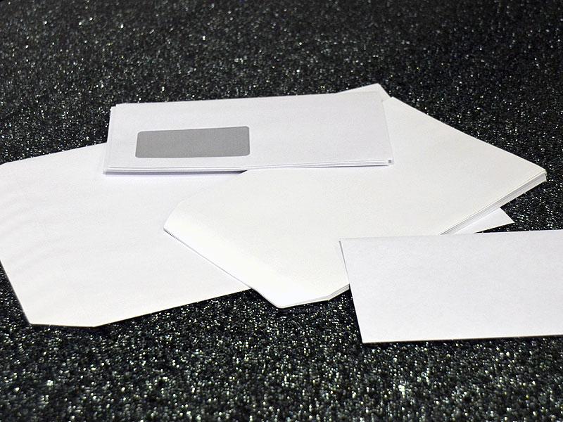 Briefumschläge, unbedruckt