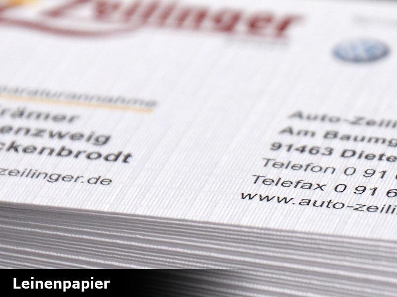 Umschlag Leinenpapier haftklebend
