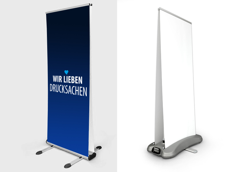 Rollup-Display OUTDOOR
