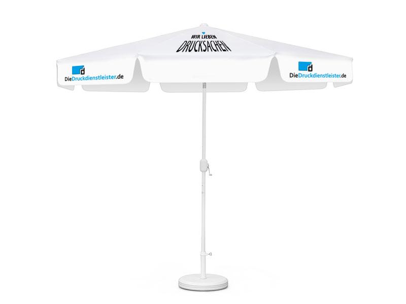 Sonnenschirm 8-teilig regendicht mit Kurbel