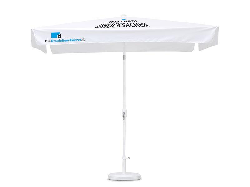 Sonnenschirm 4-teilig regendicht mit Kurbel