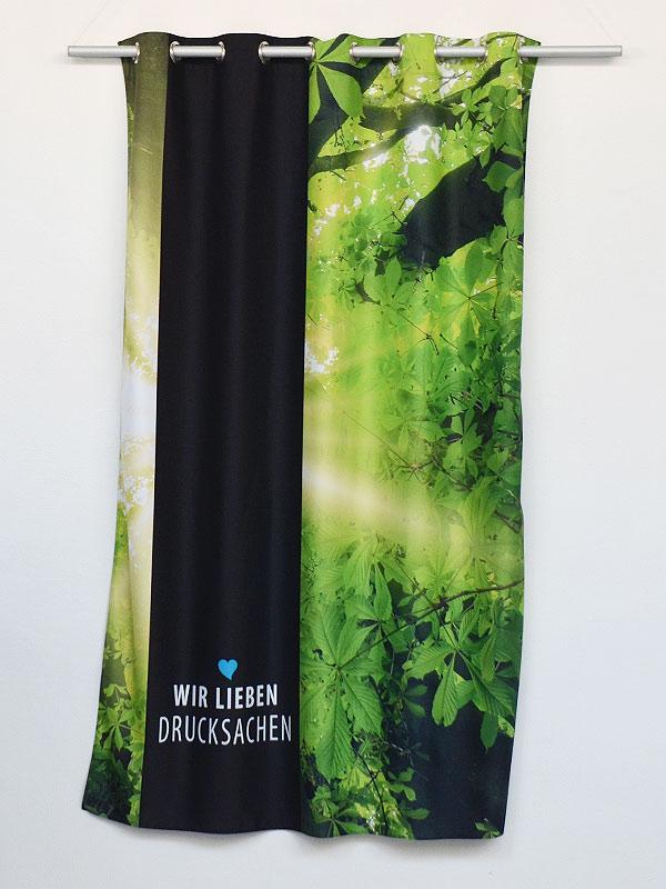 Vorhang Fotodruck schiebe vorhang mit fotodruck drucken günstig mit express versand