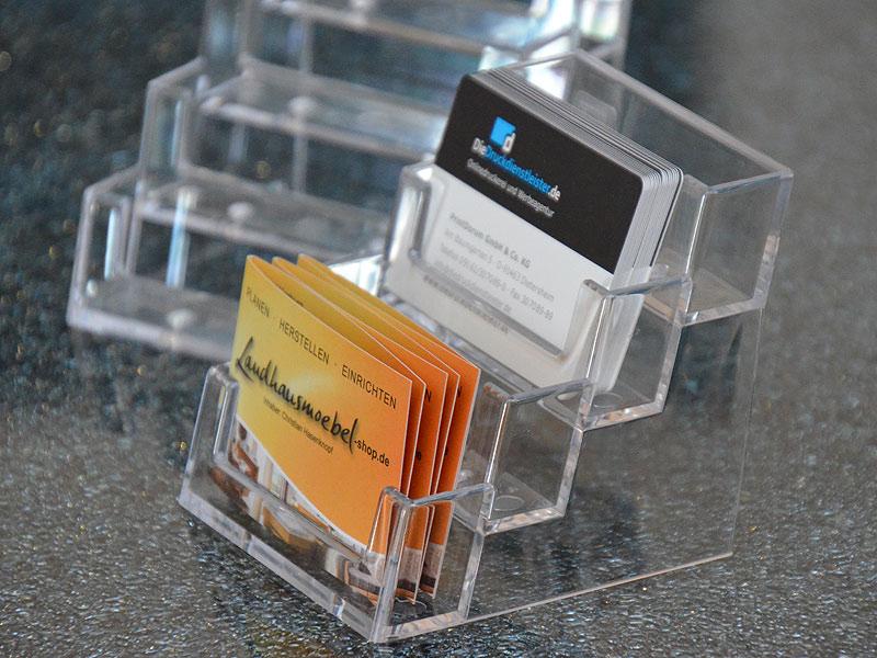 Visitenkartenhalter Aus Kunststoff Drucken Günstig Mit