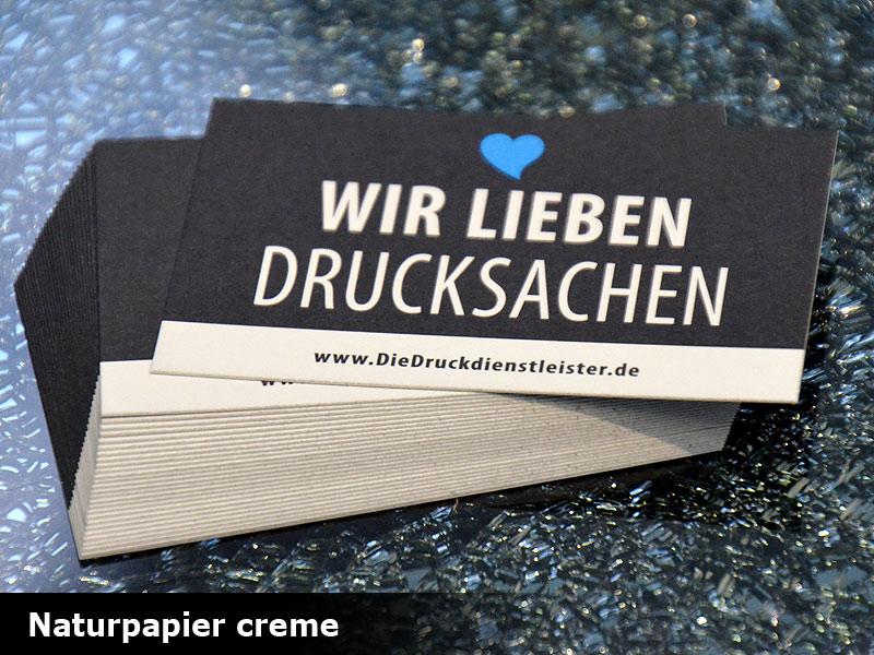 Visitenkarten Mit Umwelt Naturpapier Drucken Günstig